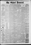 The Oxford Democrat: Vol. 48, No. 11 - March 22,1881