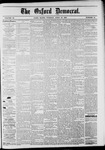 The Oxford Democrat: Vol. 48, No. 15 - April 19,1881