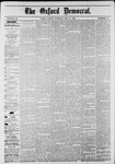 The Oxford Democrat: Vol. 48, No. 17 - May 03,1881