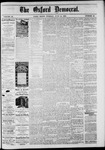 The Oxford Democrat: Vol. 48, No. 23 - June 14,1881