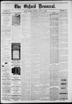 The Oxford Democrat: Vol. 48, No. 24 - June 21,1881