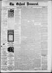The Oxford Democrat: Vol. 48, No. 28 - July 19,1881