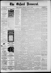 The Oxford Democrat: Vol. 48, No. 30 - August 02,1881
