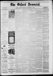 The Oxford Democrat: Vol. 48, No. 35 - September 06,1881