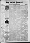 The Oxford Democrat: Vol. 48, No. 38 - September 27,1881