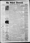 The Oxford Democrat: Vol. 48, No. 40 - October 11,1881
