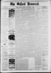 The Oxford Democrat: Vol. 48, No. 43 - November 01,1881