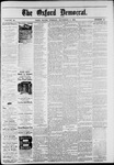 The Oxford Democrat: Vol. 48, No. 44 - November 08,1881