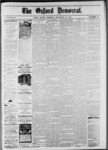 The Oxford Democrat: Vol. 48, No. 45 - November 15,1881