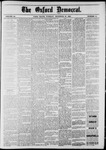 The Oxford Democrat: Vol. 48, No. 51 - December 27,1881