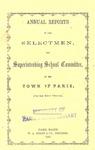 1864 Paris Maine Town Report