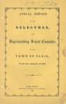 1866 Paris Maine Town Report