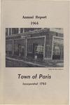 1964 Paris Maine Town Report