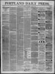 Portland Daily Press: June 26,1862