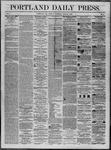 Portland Daily Press: June 30,1862