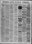 Portland Daily Press: July 08,1862