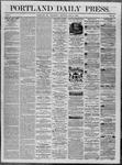 Portland Daily Press: July 09,1862