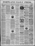 Portland Daily Press: July 10,1862