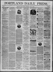 Portland Daily Press: July 12,1862