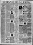 Portland Daily Press: July 15,1862