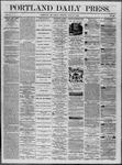 Portland Daily Press: July 18,1862