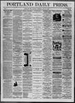 Portland Daily Press: July 19,1862