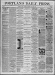 Portland Daily Press: July 22,1862