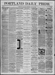 Portland Daily Press: July 25,1862