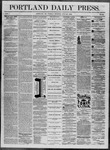 Portland Daily Press: July 29,1862