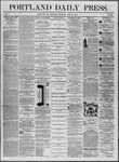 Portland Daily Press: July 31,1862