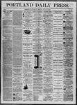 Portland Daily Press: August 07,1862