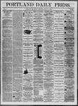 Portland Daily Press: August 11,1862