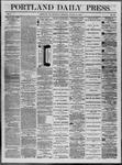 Portland Daily Press: August 14,1862