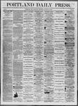 Portland Daily Press: August 16,1862