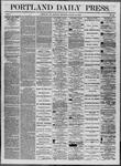 Portland Daily Press: August 18,1862