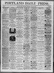Portland Daily Press: August 20,1862