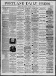 Portland Daily Press: August 21,1862