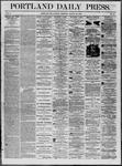 Portland Daily Press: August 25,1862