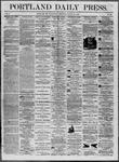 Portland Daily Press: August 27,1862