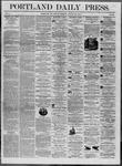 Portland Daily Press: August 29,1862