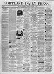 Portland Daily Press: September 23,1862