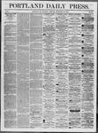 Portland Daily Press: September 25,1862