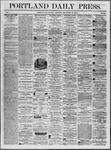 Portland Daily Press: September 29,1862