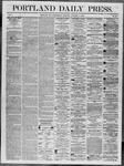 Portland Daily Press: October 01,1862