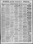 Portland Daily Press: October 16,1862