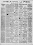 Portland Daily Press: October 21,1862