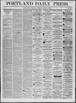 Portland Daily Press: October 22,1862