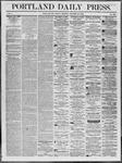 Portland Daily Press: October 24,1862