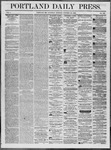 Portland Daily Press: October 25,1862