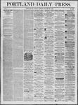 Portland Daily Press: October 28,1862